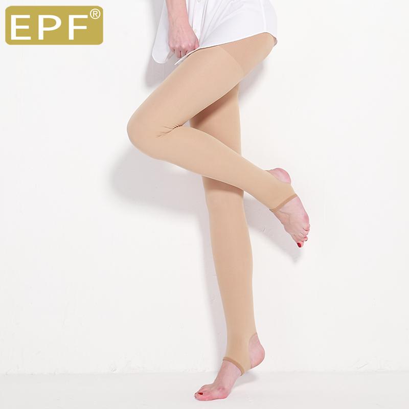 EPF膚色瘦腿襪打底褲外穿修身燃脂塑形高腰不起球壓力襪踩腳九分