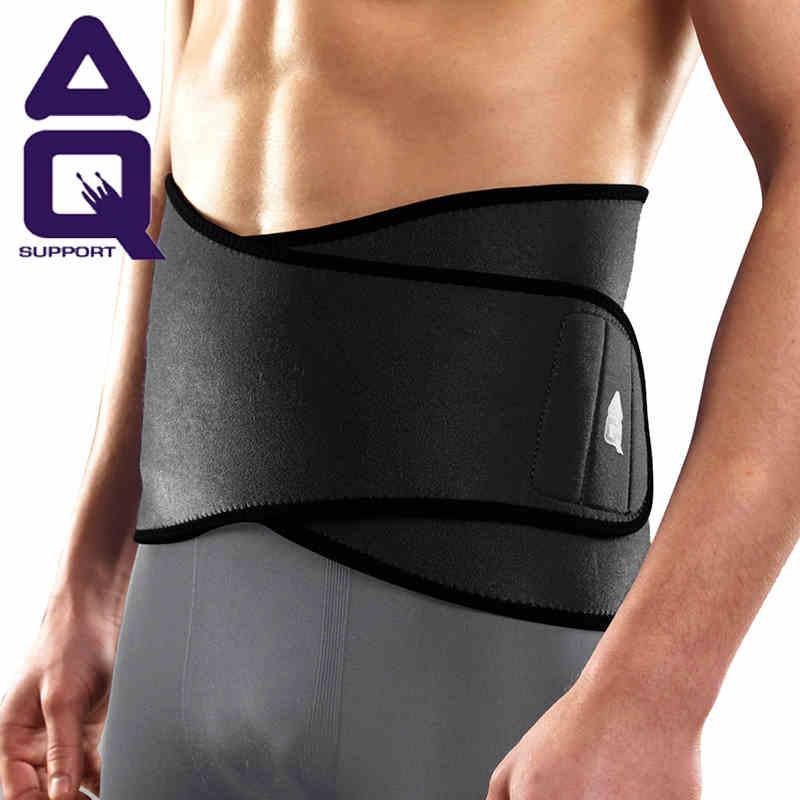 AQ护腰户外运动骑行羽毛球护具透气护腰带比赛训练腰部保护套3033