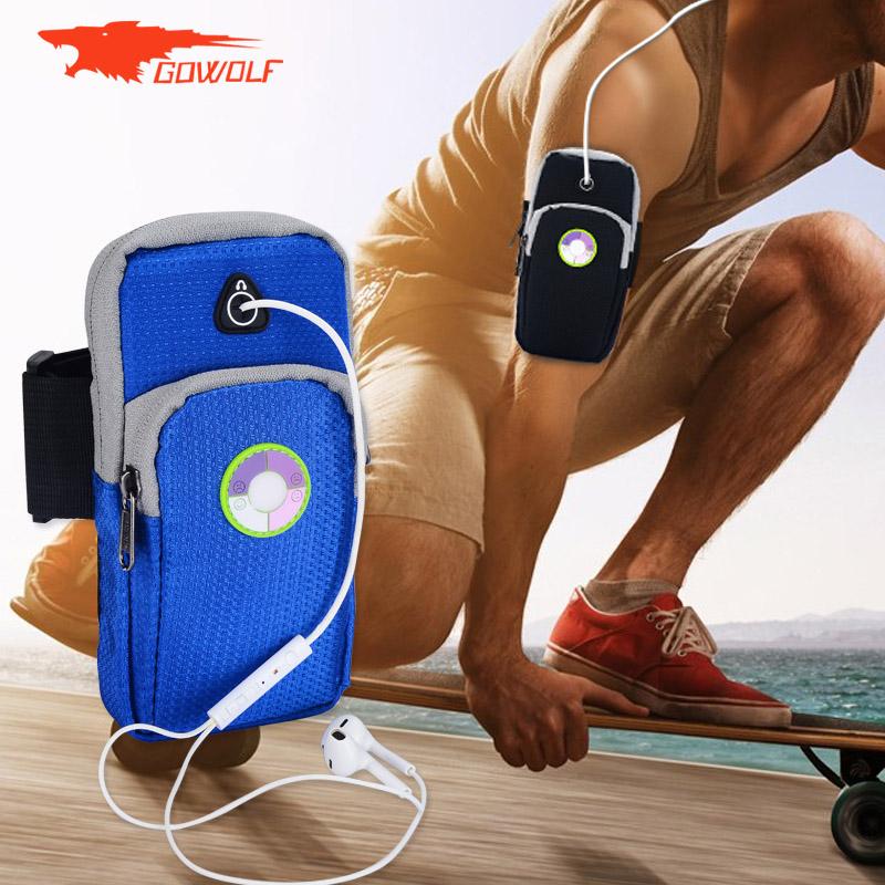 男女 跑步手機臂包蘋果 健身臂帶華為手臂套胳膊手機袋手腕包