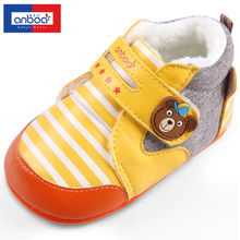 Ann boa 15 years autumn baby shoes baby cotton shoes baby toddler male joker leisure 0-1-2 years old girl