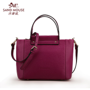 2016 new leather women bag in Beach mice Europe fashion trend bags simple leather laptop shoulder bag