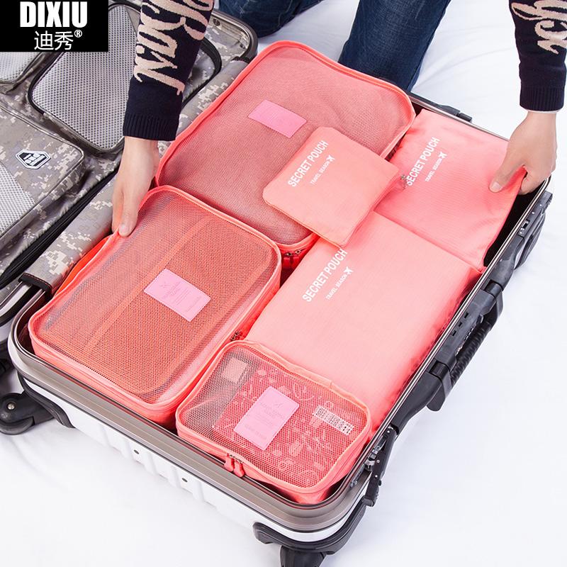 Dixiu одежда хранения сумку камера сумка путешествия одежда включают белье мел мешок набор
