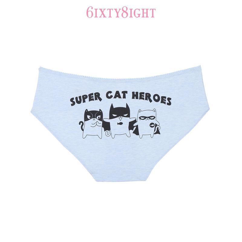 6IXTY8IGHT 超級英雄小貓俏皮蝴蝶結內褲 8F6PT02447