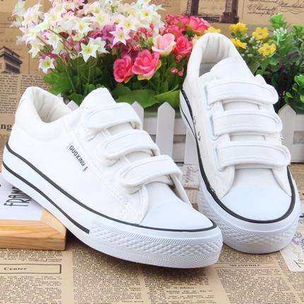 Пакет почтовый 2015 липучки холст обуви девушка корейской версии отлива помочь студент Женская обувь обувь Обувь обувь Обувь