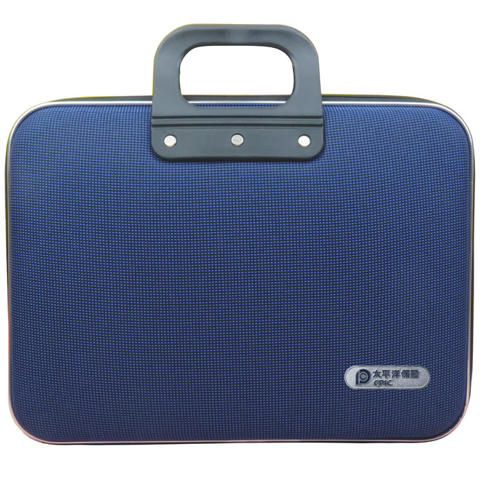 Blue Oxford exhibition bag computer bag portable business package Life Insurance China Pacific Insurance