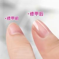 Nano гвоздь инструмент стекло ремонт ноготь песок статья польский растущая яркий ноготь лист твист статья полированный палец броня