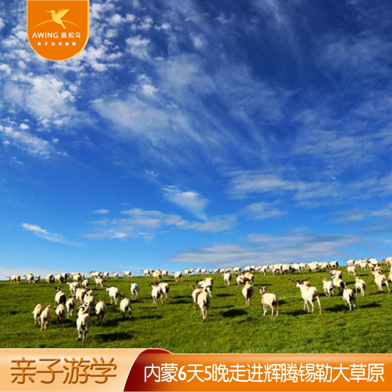 【内蒙亲子游】内蒙古6天5晚穿越库布齐沙漠驰骋辉腾锡勒大草原