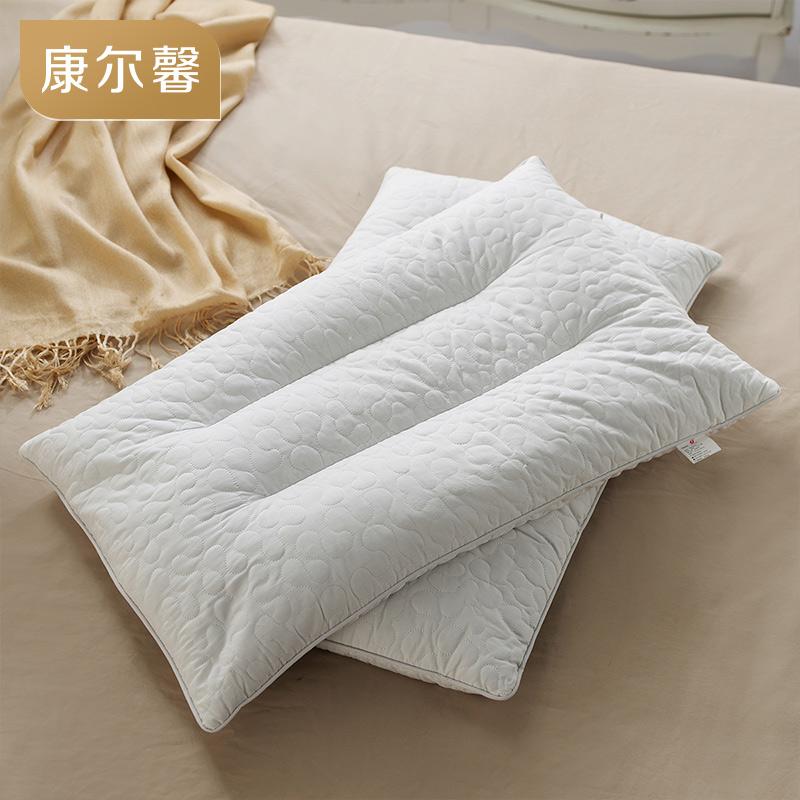 康尔馨五星级酒店床上用品荞麦枕头全荞麦枕单人双人枕芯一对拍2
