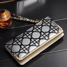 The new 2015 ms han edition wallet Dinner ladies' bag long zipper bag female hand card wallet purse