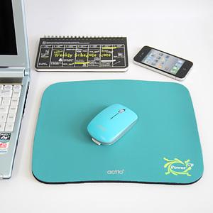 ACTTO安尚纯色加大商务礼品游戏办公专用7毫米加厚鼠标垫包邮