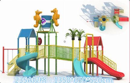 水上乐园设备儿童水屋组合滑梯水上小品反斗乐大型游泳池儿童水寨