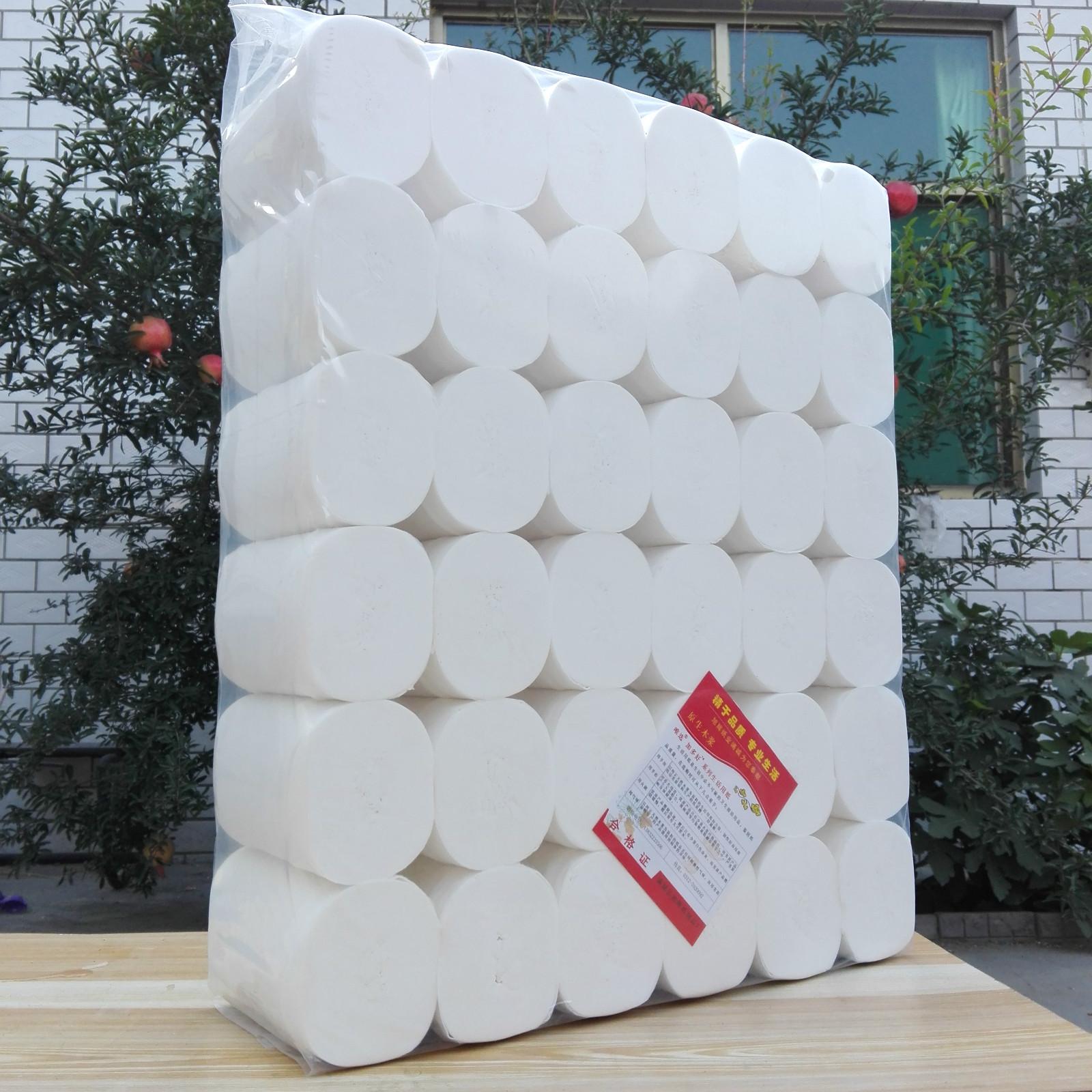 トイレットペーパーメーカーは紙を巻いて5.8斤の販売促進を行います。36巻の女性用の紙パルプティッシュペーパーの巻き取り紙は家庭用のトイレットペーパーに入れて郵送します。