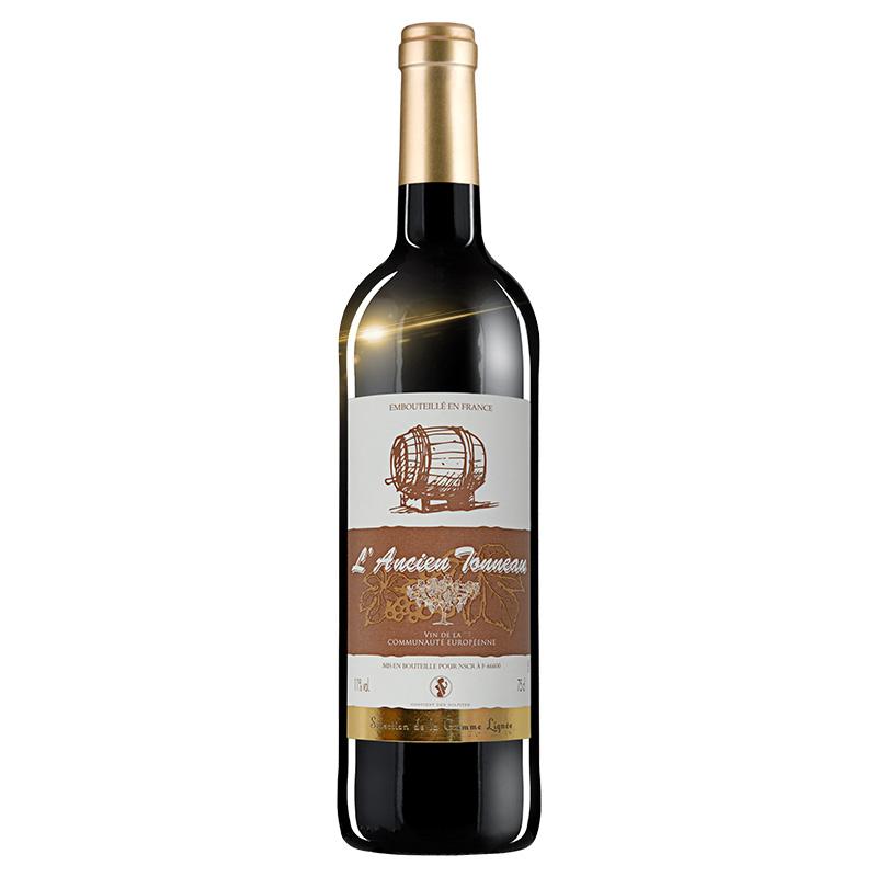 法國 紅酒 老木桶幹紅葡萄酒 750 ml 瓶