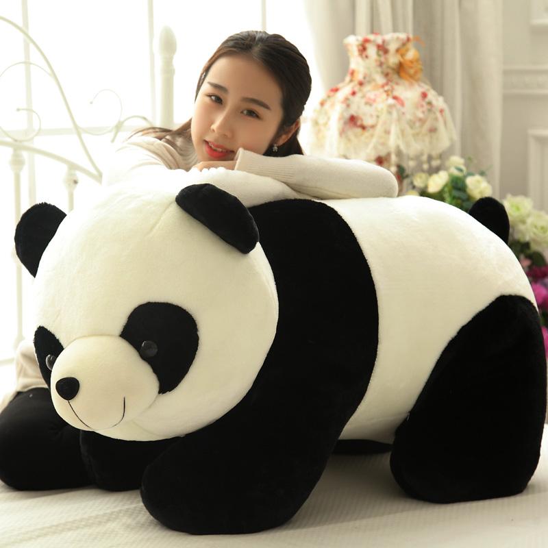 熊猫毛绒玩具 公仔抱抱熊 大熊猫抱枕 儿童布娃娃玩偶 女生日礼物