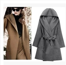 2015 autumn/winter wool coat coat of cultivate one's morality long Europe and the United States women's new big yards cashmere coat coat