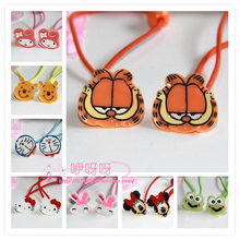 Special offer south Korean children's hair accessories Super sprouting baby elastic rope KITTY Garfield cute cartoon image