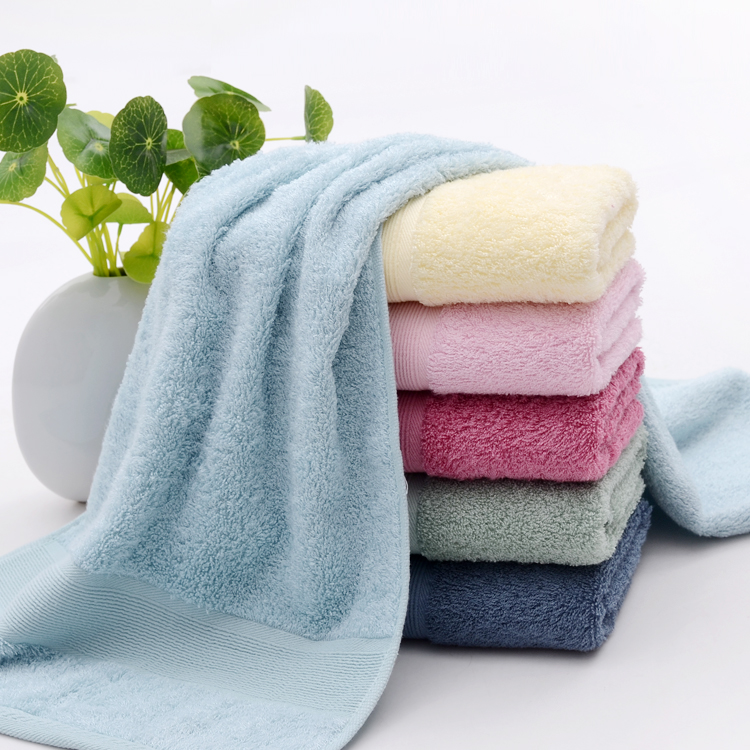 Special price thickened bamboo fiber big towel soft absorbent bamboo charcoal beauty facial towel is healthier than pure cotton wholesale package