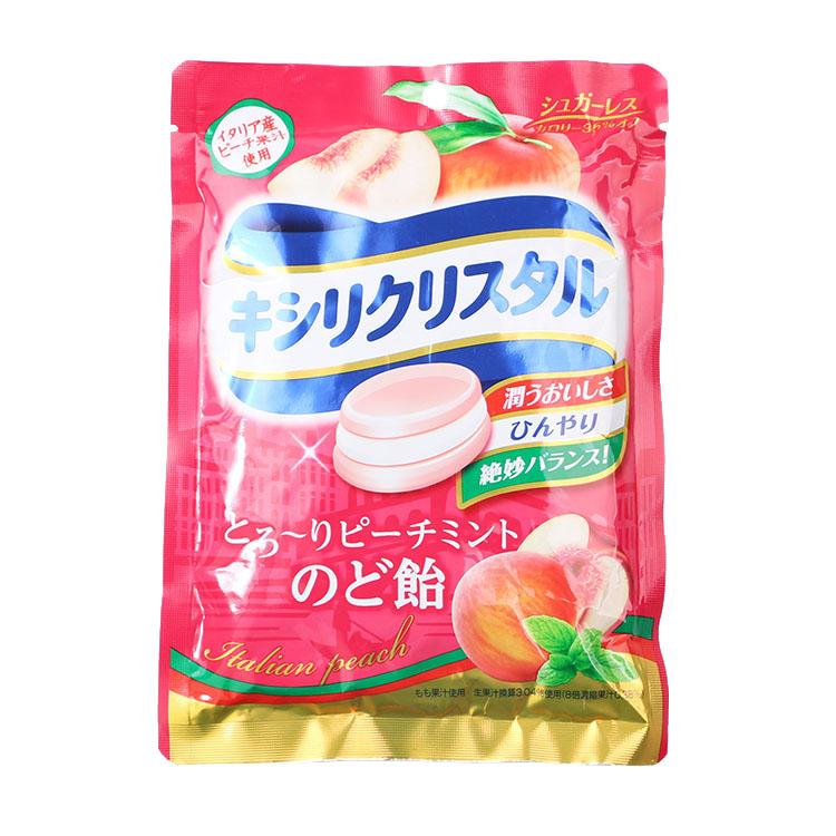 Япония импортированных закуски Teicalo персиковый сок, ксилит монетных дворов три таблетки 63g (70 гр)