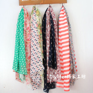 2015 new special chiffon silk scarf fabric cloth head zero summer fabric pieces colors random