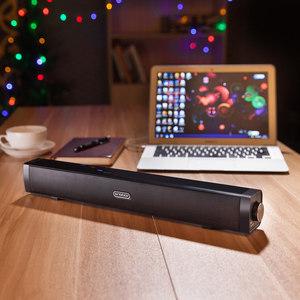 圣宝 Q1笔记本台式电脑音响迷你usb便携式长条多媒体有源立体音箱