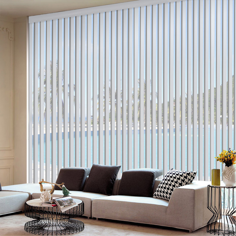 Сделанный на заказ PVC вертикальный шторы офис комната занавес бисер шторы зерно оттенок вертикальный шторы занавес гостиная отрезать занавес