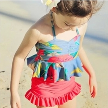 Bargain sale summer with girls swimsuit han edition of the type that wipe a bosom skirt broken beautiful swimsuit bikini swimsuit swimming sweater