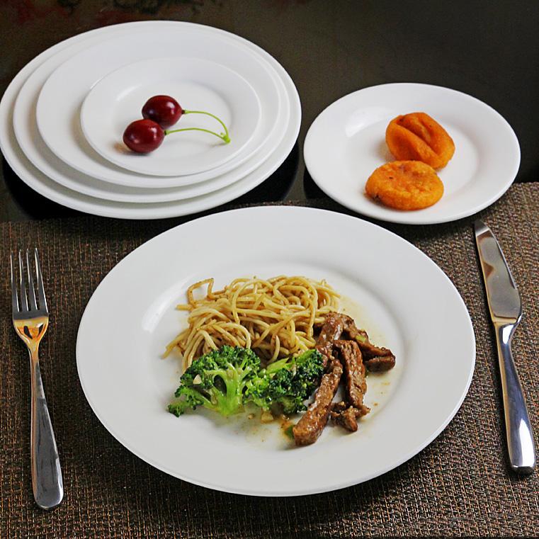 西餐陶瓷盤子 歐式牛排平盤碟子菜盤西餐盤碟子餐具家用圓盤