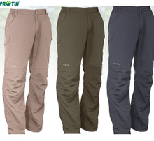 Send the lotte for an outing Second quarter antibacterial moisture absorption perspiration male money fast drying pants quick-drying pants Uv two pants