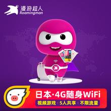 漫游超人官方日本WiFi租赁随身无限流量北海道冲绳无线移动蛋