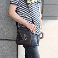 The new fashion han edition men's bags Men's bags Men's singles shoulder bag Leisure bag Oxford cloth bag