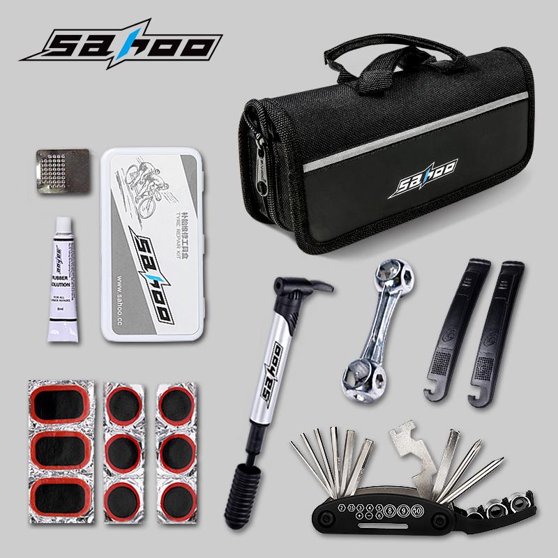SAHOO велосипед шины установите горный велосипед служба инструмент многофункциональный сочетание ремонт toolkit