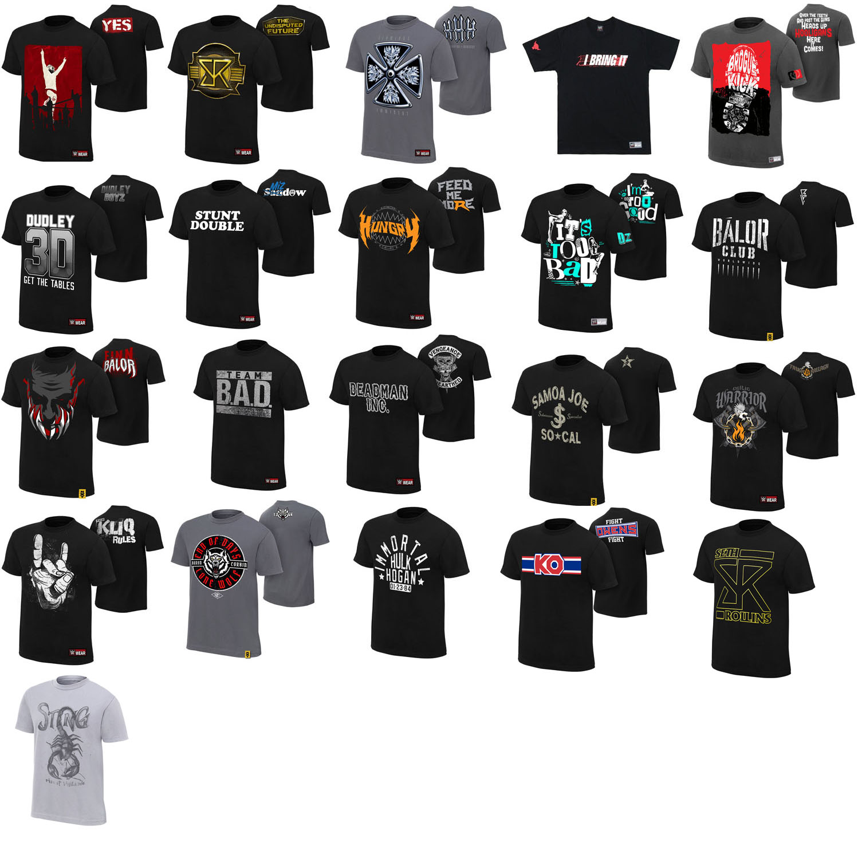 Борьба WWE-y2j mizidaofuximosiluoke HHH Брайан жесты барокко, шею короткий рукав футболки