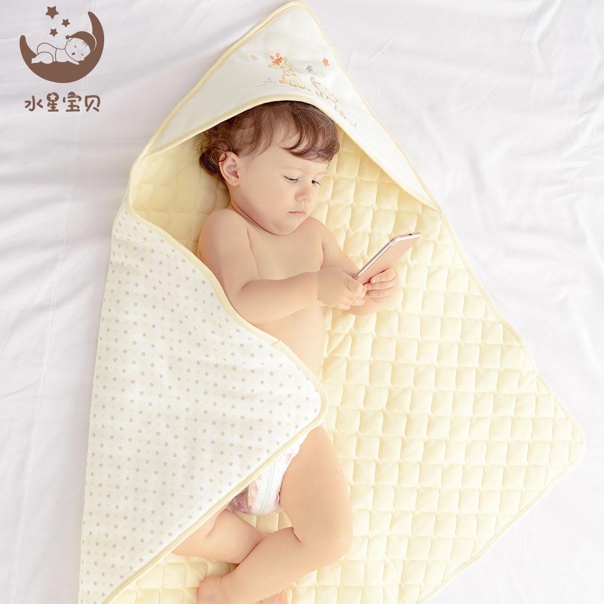 Вода звезда ребенок в небе звезда покрытый новорожденных осень и зима держаться ребенок утолщенный чистый хлопок ребенок