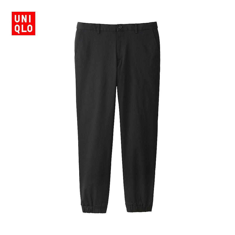 Мужской свет пробег движение пакет брюки ( хлопок )174247 отлично одежда склад UNIQLO