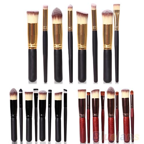 8PCS Pro Makeup Cosmetic Brushes Set Face Eyeshadow Nose Fou