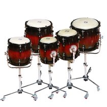 GE Lige National percussion instrument sound drum solid wood drum cavity cowhide drum face LPG-512
