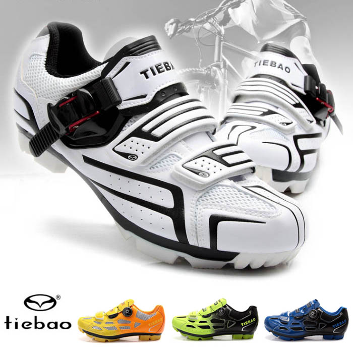 Tiebao mountain professional cycling shoes mountain cycling shoes bicycle leisure self locking shoes small size breathable mens and womens shoes