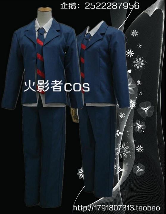 Men's college students / high school students' daily Zhongbang Tian Hata show, Jizhu Tanaka cosplay costume