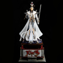 The world around 3 beautiful hand-made Song Yufeng too virtual head Netease game character model physical ornaments resin