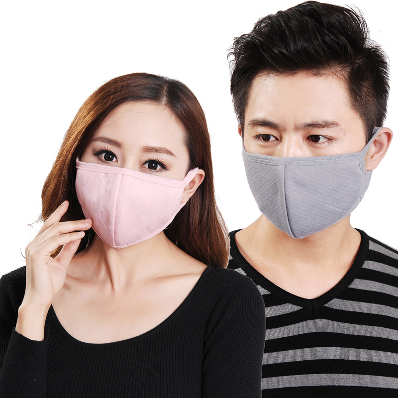 Pm2 Masks 5 Charcoal And Haze Warm Cute Winter Protective Dust Male Anti-fog Female Personality Fashionable Korean
