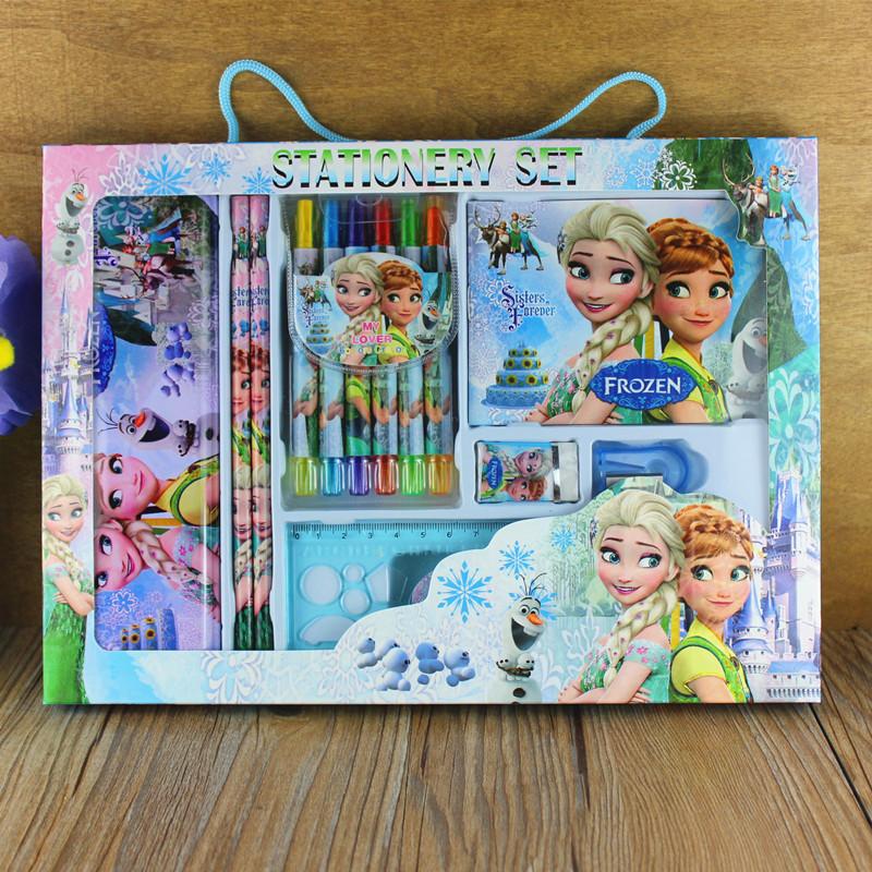 卡通学生文具套装礼盒大礼包儿童礼品奖品学习用品幼儿园生日礼物