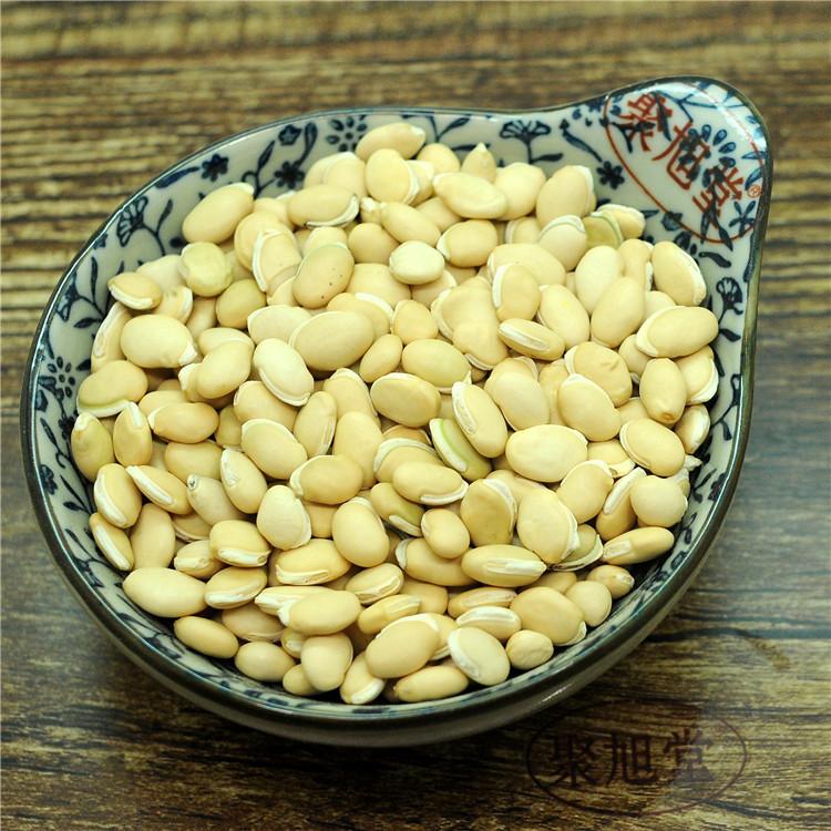Парк полон 38 юаней белый плоский фасоль 250 грамм большое зерно кашица сырье может медицина использование