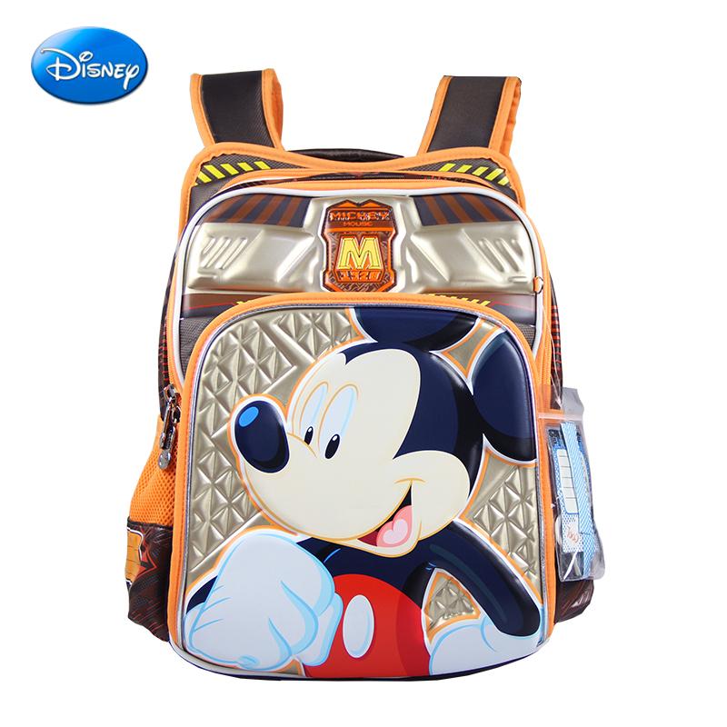 迪士尼書包小學生男生女生1~3年級米奇女童書包兒童護脊雙肩包