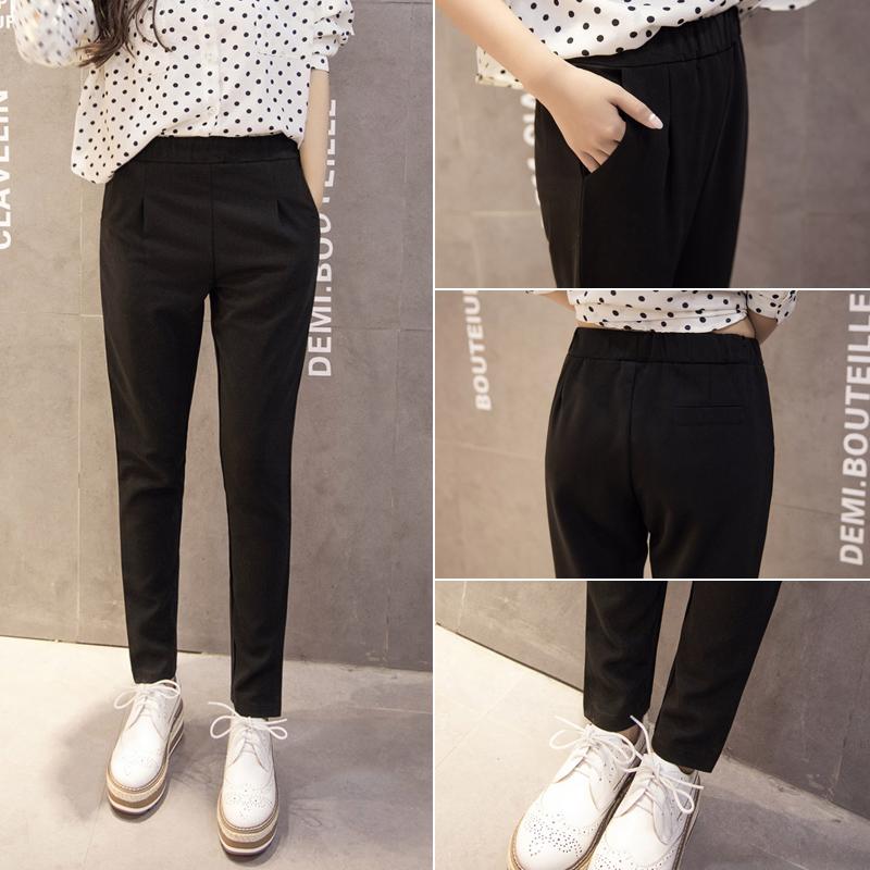2016 Корея весна/лето новый Корейский дамы slim гарем брюки тренировочные брюки упругие талии брюки и досуг бум