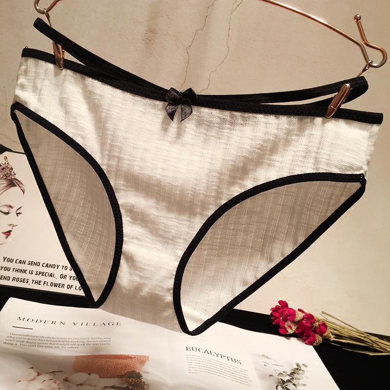 日系棉质面料学生女士性感三角裤头手慢无