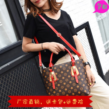托特包女包大包大容量欧美简约2017新款手提包印花复古韩版单肩包