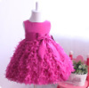 Elegant baby princess dress flower girl dress kids girls