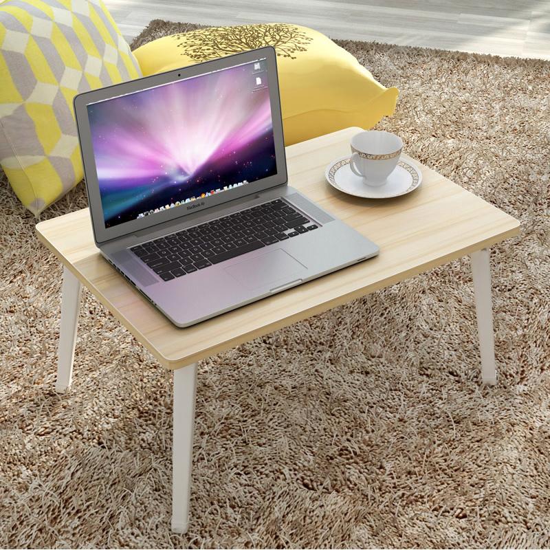 蔓斯菲爾筆記本電腦桌床上用宿舍書桌 簡約床邊桌簡約桌