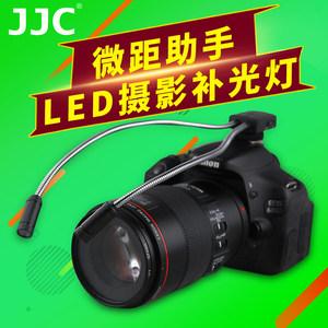 JJC微距拍摄补光灯LED摄影灯佳能尼康富士奥林巴斯索尼微单反相机