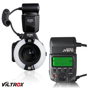 唯卓JY-670环形微距闪光灯 适用佳能尼康宾得松下奥林巴斯相机